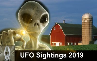 UFO Sightings 2019 UFO Helps Out Farmer With His Crops