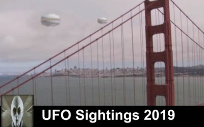Top 5 UFO Sightings 2019 Great UFO Footage