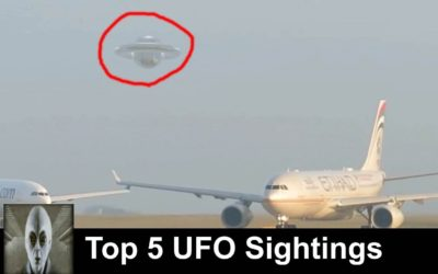 Top 5 UFO Sightings 2019 March Must See UFO Footage