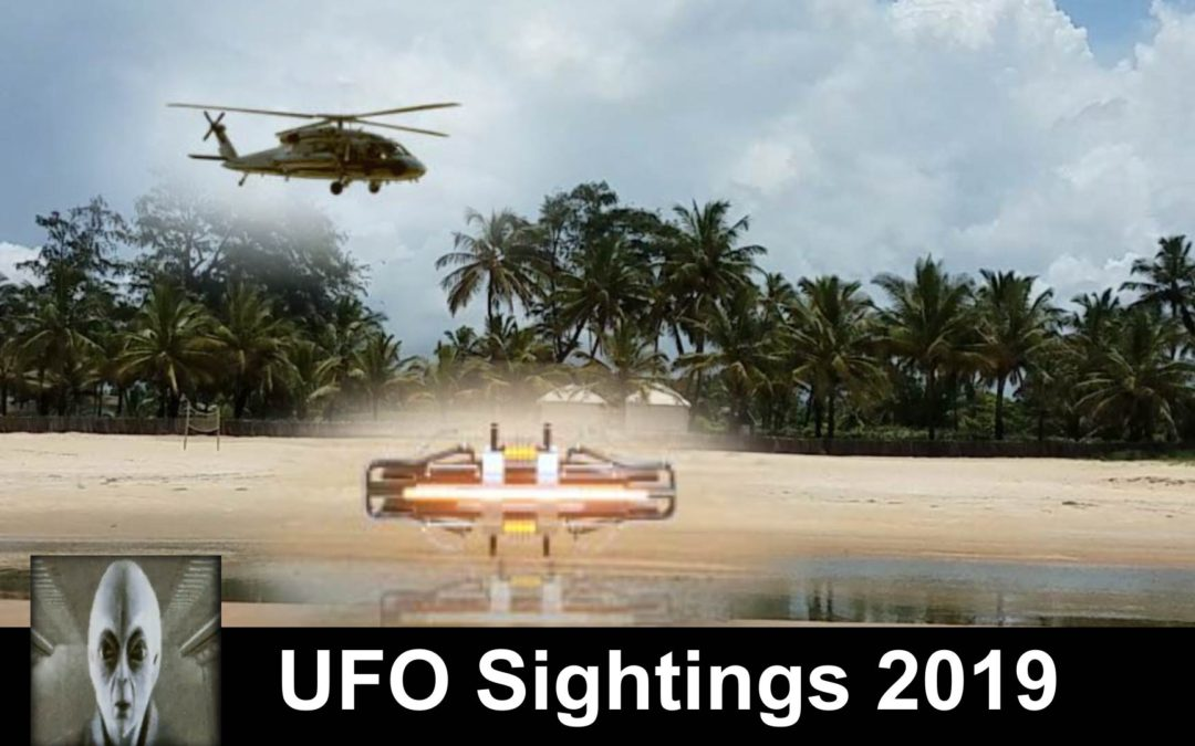 Top 5 UFO Sightings March 2019