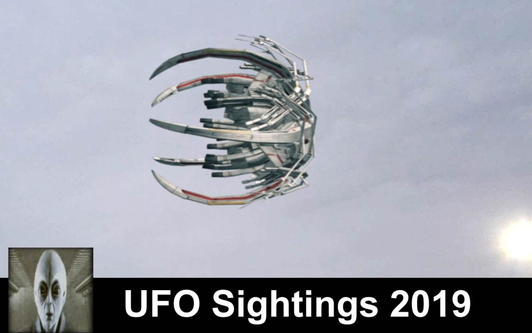 UFO Sightings April 19th 2018 Alien Space Craft Excellent Footage