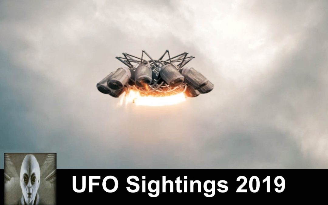 UFO Sightings April 4th 2019 Clear UFO Footage And Reptilian Ship