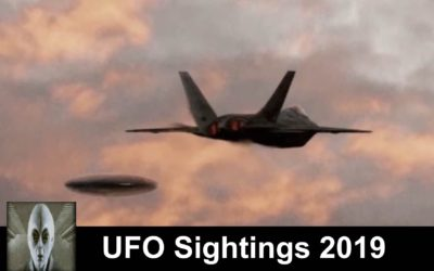 UFO Sightings May 13th 2019 Jet Checks Out UFO