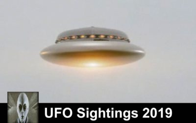 UFO Sightings May 1st 2019 Flying Saucer And A Huge Unknown Object