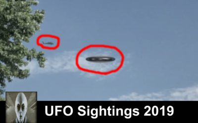 UFO Sightings 2019 Ohio Flying Saucer Near Helicopter